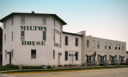 Tour for Four or Six at The Milton House (Up to 56% Off)