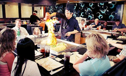 $15 for $30 Worth of Asian Dinner Cuisine and Drinks for Two at Fusion Steakhouse