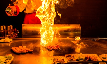 Sushi or Hibachi Cuisine for Two or Four, or Sushi and Hibachi for Lunch at Fuji Sushi & Hibachi (Up to 40% Off)