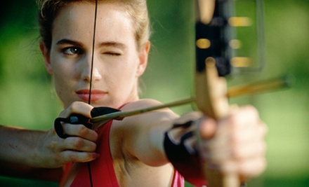 $25 for a One-Hour Practice Session with Bow and Arrow Rental for Two at Barefoot Archery ($50 Value)