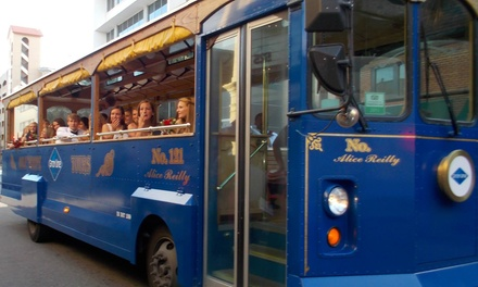 Trolley Tours for One or Two from Oglethorpe - Gray Line Savannah Trolley Tours