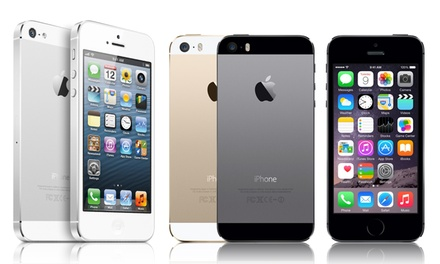 Apple iPhone 5 or 5s from $249.99–$399.99 (GSM Unlocked) (Refurbished)