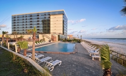 Groupon Deal: Stay at Oceanside Inn Daytona Beach in Daytona Beach Shores, FL. Dates Available into August.