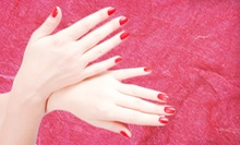 One or Two Shellac Manicures with Paraffin Treatments at Solar Nails (Up to 51% Off)