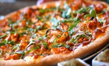 Pizzeria Food at Extreme Pizza (Up to 51% Off). Three Options Available.
