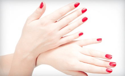 Manicure, Pedicure, or Mani-Pedi from Angie Breedwell at iStudio Salons (Up to 53% Off)