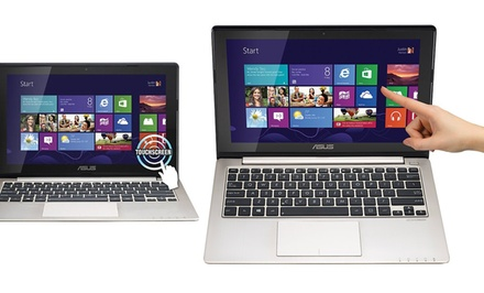 ASUS Ultraportable Touchscreen Notebook (S200E-RBCLT09) (Refurbished). Free Returns.