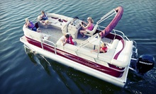 $199 for a Half-Day Pontoon or Fiberglass Boat Rental from SkipperBuds ($395 Value)