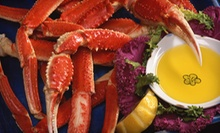 $25 for $50 Worth of Seafood for Dinner Valid MondayThursday or Any Day at DiNardos Famous Crabs