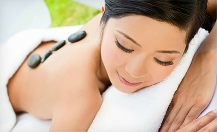 $39 for 60-Minute Hot Stone Massage at Omega Hair Salon ($110 Value)