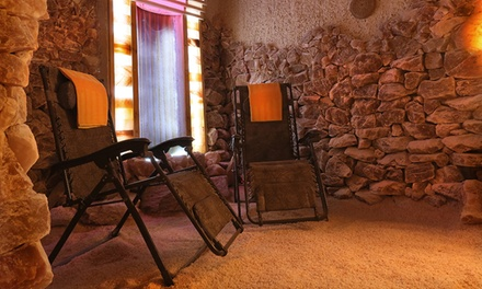 One or Three 45-Minute Salt-Cave Visits at SaltWonder (Up to 63% Off)