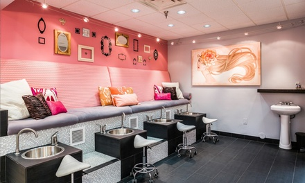 Up to 57% Off Manicure & Pedicure at Park Avenue Blow Dry and Beauty