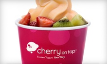 $11 for Six 9 Oz. Frozen Yogurts at Cherry On Top ($21.06 Value)