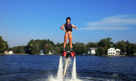 $149 for a Flyboard Lesson with Equipment Rental and Delivery from We Deliver Watersports ($299 Value)