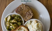 Three-Course Southern Dinner for Two or Four at Bantam + Biddy (Up to 56% Off)
