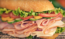 Deli Food or Catering at Leonardo's Deli (Half Off). Four Options Available.