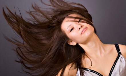 Full Blown Blowout or Full Keratin Treatment at Ashley Pure Beauty (Up to 51% Off)