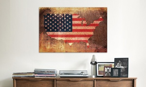 """26""""x18"""" Or 40""""x26"""" Fourth Of July Gallery-wrapped Canvas Prints From $49.99–$69.99"""
