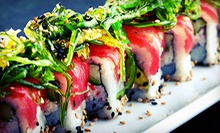Sushi, Japanese Food, and Drinks for Dinner at Ta Ca (Half Off). Two Options Available.