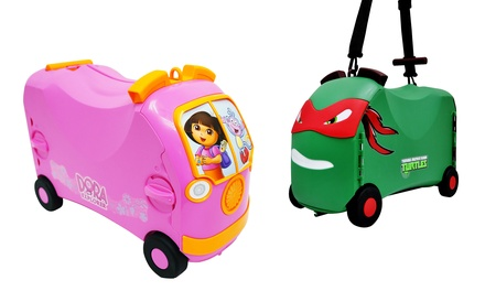 Vrum Ride-On Suitcase and Toy Storage. Multiple Options Available.