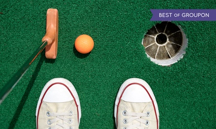 $22 for $40 Worth of Range Balls, Mini Golf, and Batting Cages at Mulligan's Island Golf & Entertainment