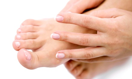 Gel and Standard Mani-Pedis at Tropical Oasis Nail Salon and Spa (Up to 59% Off). Three Options Available.