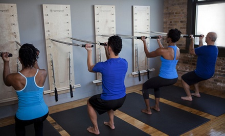 $59 for Five Group Pilates Spring-Wall Classes at oneBody ($200 Value)