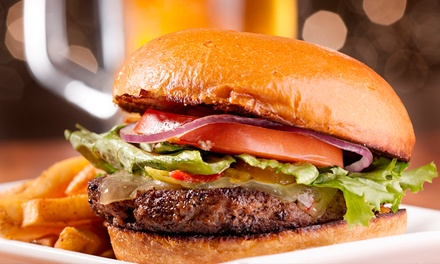 Burgers and Pub Food for Two or Four at Charles Village Pub (Up to 50% Off)