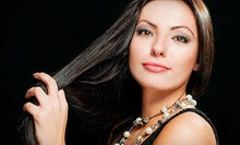 Haircut, Highlights or Color, or Brazilian Blowout from Angel Suazo at Posh Pineapple Hair Salon (Up to 55% Off)