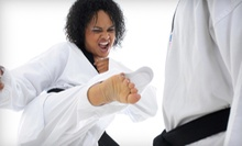 5 or 10 Classes and Uniform at Master Kwon's World Class Tae Kwon Do (Up to 79% Off)