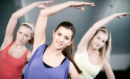 One or Three Months of Fitness Classes at Hillsborough Pool, Racquet & Fitness (Up to 73% Off)