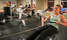Three or Five Indoor Rowing Fitness Classes at RowZone (Up to 61% Off)