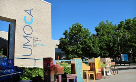 Individual or Dual/Family Membership to the Utah Museum of Contemporary Art (Up to 53% Off)