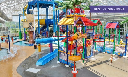 groupon daily deal - 1-Night Stay w/ Water-Park and Activity Package at Big Splash Adventure in French Lick, IN. Valid for Check-In Sun.–Fri.