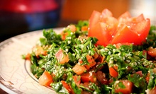 Three-Course Lebanese Meal for Two or Four at Le Sajj (Up to 61% Off)