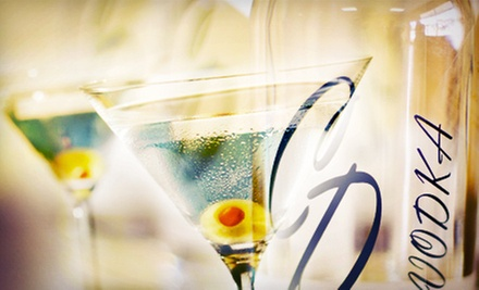 Martini Tasting with Appetizers and Mini Tour for Two, Four, or Six at CD Vodka (Up to 66% Off)