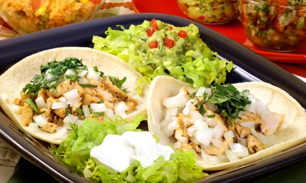 Mexican Dinner for Two or Four or Mexican Lunch for Two at Mariachi's Mexican Restaurant (Up to 51% Off)