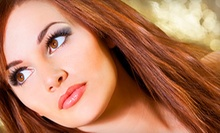 Prom Makeup with Option for Brow Shaping, or Eyelash Extensions at Skin Essentials Day Spa (Up to 56% Off)