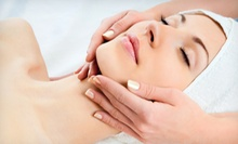 50-Minute Hot-Stone Massage with a Mini Facial or Foot Scrub at The Massage Connection: Wellness Center &amp; Spa (57% Off) 