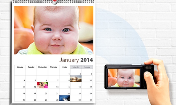 Printerpix: Personalised A3 Photo Wall Calendar from €9.50 (Up to 73% Off)