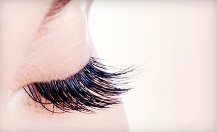 Full Set of Eyelash Extensions with Optional Refill at Abaka Salon (Up to 68% Off)