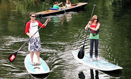 $20 for One-Hour Standup-Paddleboard Rentals for Two from Whaz SUP ($40 Value)