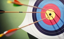 $39 for a 90-Minute Group Archery Lesson for Two with Equipment Rental ($85 Value). 12 Class Times Available.