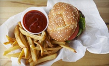 American Food for Breakfast or Lunch Saturday–Sunday or Monday–Friday at The Red Cabin (Up to 53% Off)