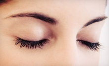 Set of Eyelash Extensions with Optional Makeup Application at Allure Day Spa (Up to 64% Off)