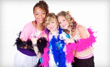 Pop Diva Party for Up to Four Girls or Hot Mama Party for Up to Four Women at GHME Productions (Up to 63% Off)