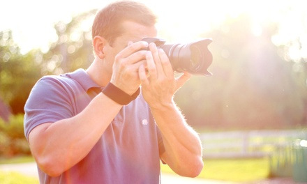 $64 for a Three-Hour Basics of Photography Workshop from Desired Focus Photography ($150 Value)