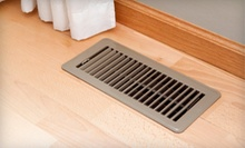 Air-Duct Cleaning with Option of Dryer-Vent Cleaning for One or Two Mains from Carpet Rescue Plus (Up to 87% Off)