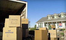 $199 for Three Hours of Moving Services with Three Movers and a Moving Truck from The Moving Factor (Up to $399 Value)