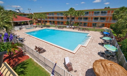 Stay at Roomba Inn & Suites Orlando/Kissimmee in Kissimmee, FL. Dates into May.